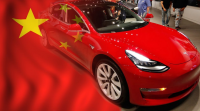 Tesla cut the price of Model 3 cars made in China ($46,400)