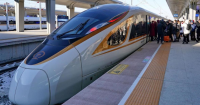 World's first 350km-per-hour driverless bullet train goes into service in China