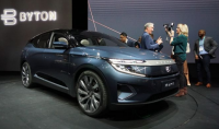 Byton M-Byte SUV at 2020 CES Consumer Electronics Show