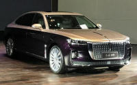 [RedFlag H9] RedFlag flagship large luxury sedan HongQi H9