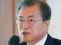 韩国总统文在寅 – 中国的困难就是我们的困难