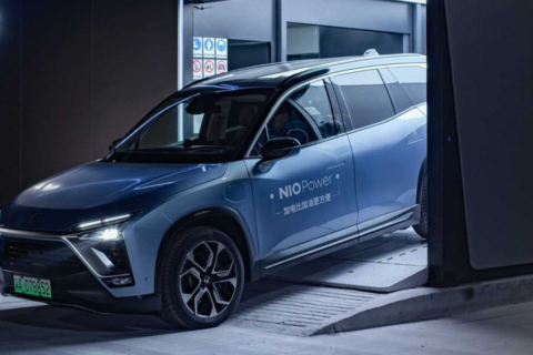NIO Power Battery Swaps Reaches 500,000