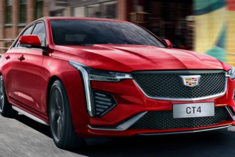 Cadillac CT4 28T in Chinese Show Room 2020 ($30,000)