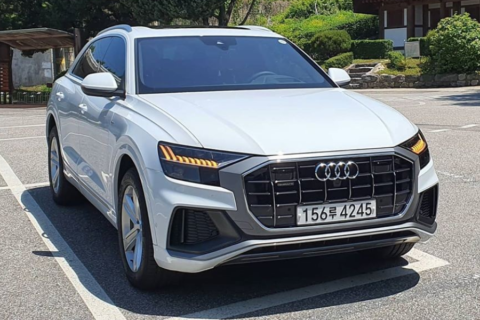 [Gallery] Audi Q8 in Korea