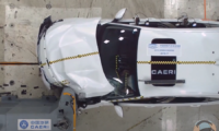 Honda Inspire crash test result: poor