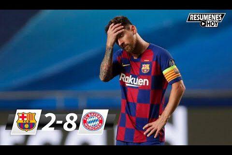 2020 Champions League: ΒаrсеΙοnа Vѕ Βауеrn Μunісh (2 – 8)