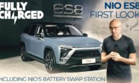 NIO ES8 & 3-minute Battery Swap Station