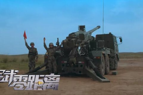 [Artillery] PLA 155mm vehicle-mounted howitzer