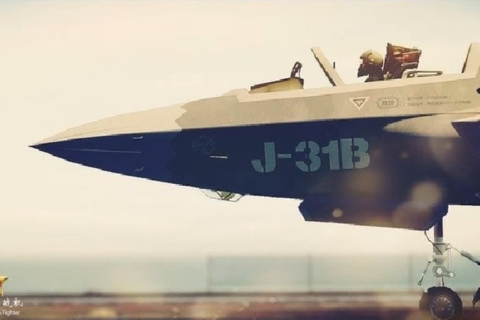 [J-31] Carrier based J-31 Stealth Fighter