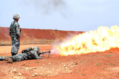 PLA flamethrowers