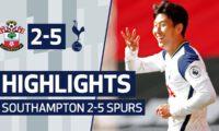 SOUTHAMPTON 2-5 SPURS | Heung-min Son scores FOUR