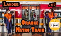 China Pakistan Cooperation: Orange Line Metro Train in LAHORE