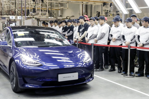 Tesla start exporting Chinese-made vehicles to Europe