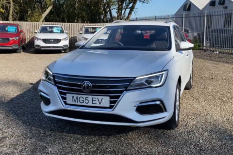 The MG5 EV 52.5 kWh Exclusive 5dr Estate
