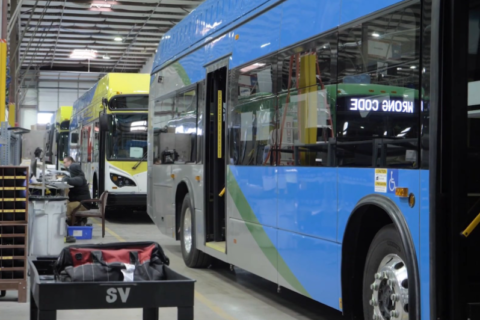 BYD American Factory: How an ELECTRIC BUS s is Made
