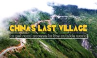 China's last village to get road access to the outside world