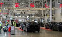 3,600 China-made Tesla sedans reached Europe