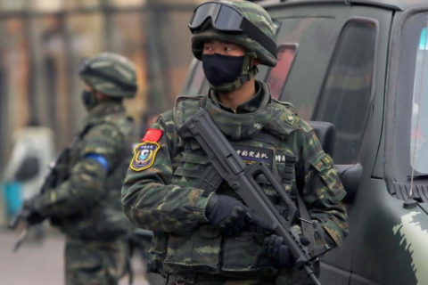 [PAP] People's Armed Police in China