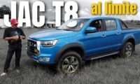 JAC T8 Pickup testing in Mexico