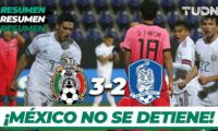 Mexico 3:2 Korea (friendly match)