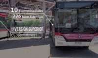 Beiqi Foton EV busses in Chile