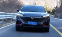 Changan UNI-T test driving