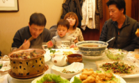 Monthly income per family in China 2020