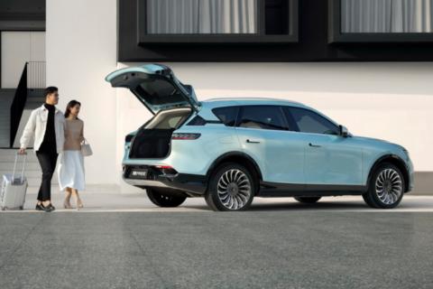 2021 VOYAH i-Land Luxury EV