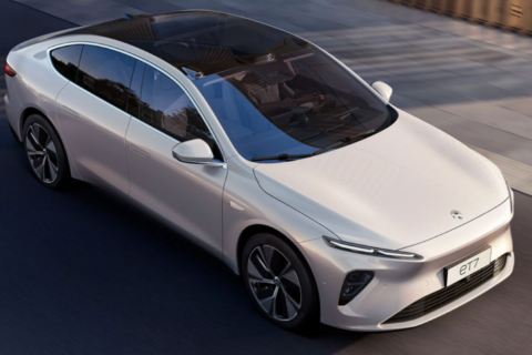 Nio ET7 electric sedan