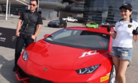 Cruising China with Lamborghini