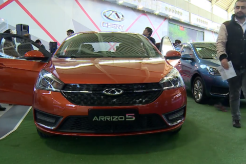 Chinese cars gaining popularity in Iran
