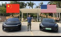 Tesla model 3 vs BYD Han