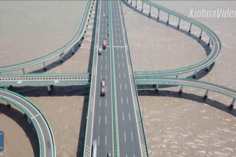 Hangzhou Bay Bridge 36KM