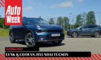 Chinese Lynk & Co 01 vs Korean Hyundai Tucson – Dubbeltest