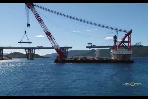 Croatia's PeljesacBridge, built by Chinese company, is fully joined together