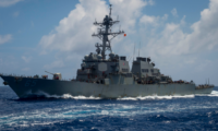 [2021] US navy warships passing Taiwan Strait