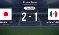 [2021.07.25] Olympic Japan U23 2:1 Mexico; Mexico U23 4:1 France