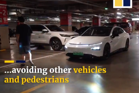 Xpeng automatic driving