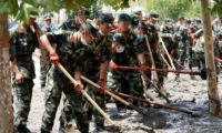 [Relation] Chinese army & people relation