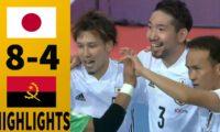 Japan (日本) 7 x 4 Angola Full Highlights – Futsal World Cup 2021